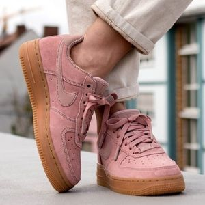 buy popular c6e5a 74834 Nike Shoes - NWTNike Air Force 1 07 SE Particle Pink WMNS